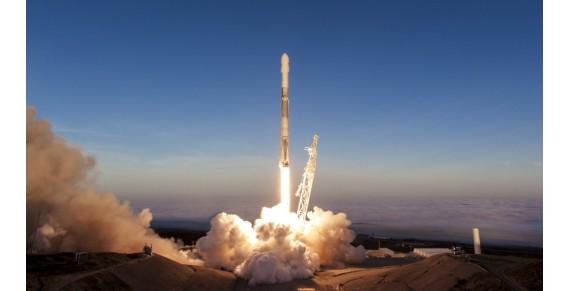 SpaceX  вивела на орбіту 10 супутників Iridium Next