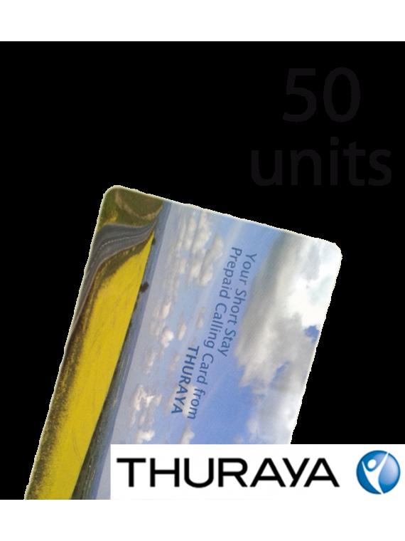 Поповнення Thuraya на 50 юнітів