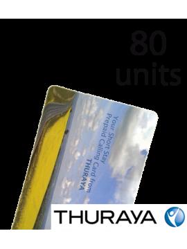 Поповнення Thuraya на 80 юнітів